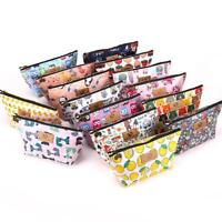 New Waterproof Cosmetic Purse Wash Bag Organizer Pouch Pencil Case Storage S