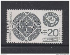 O) 1980 MEXICO, MEXICO EXPORTA WROUGHT IRON, SPECIMEN MUESTRA, MNH