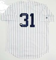 Dave Winfield Signed New York Yankees Majestic P/S Jersey w/ HOF- JSA Auth *3