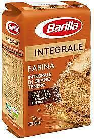 FARINA INTEGRALE BARILLA GRANO TENERO 1 KG PIZZA PANE RUSTICO FRAGRANTE FOCACCIA