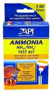 API AMMONIA TEST KIT TROPICAL COLDWATER AND MARINES FISH TANK AQUARIUM