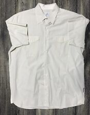 Calvin Klein Jeans Shirt Collared Striped Short-Sleeve Mens Sz Sm 210.131