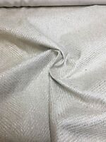 LAURA ASHLEY NATURAL WOVEN UPHOLSTERY FABRIC 1.6 METRES