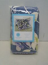 Martha Stewart Collection Wisteria Garden Pillow Sham Standard New Quilted