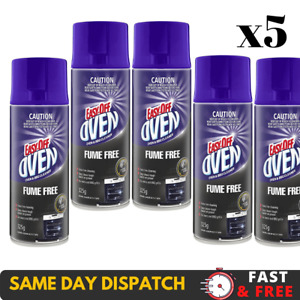 Easy off Bam Fume Free Oven Cleaner Spray Remove Grease, 325G 5 Pack