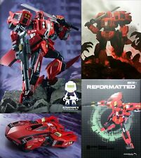 Transformers Mastermind Creation R-32G Stray Shadow Ghost aka Shatterglass Drift