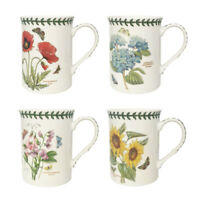 Portmeiron Botanic Garden Set of 4 Mugs Floral Flowers Gift Set Cup