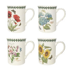 Portmeiron Botanic Garden Set of 4 Mugs Floral Flowers Gift Set Cup