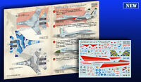 Print Scale - 144-013 - Decal for Sukhoi Su-27 - 1:144