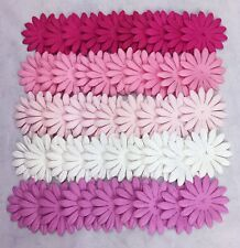 50 Quality Mulberry Paper Petals 4 cm - Pink and White Mix