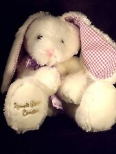 "RUSSELL STOVER CANDIES Stuff/plush Farm Animal BUNNY RABBIT  14"" tall"