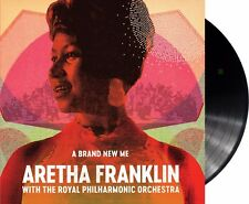 "Aretha Franklin with Royal Philharmonic Orchestra ""a brand new me"" Vinyl LP NEU"