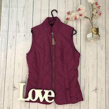 Joules Size 8 xs origminx pink fleece lined gilet zip up vgc quilted body warmer