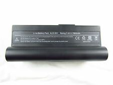 7800mAh Battery For ASUS EeePC 901 904 1000H 1000HD 1000HE 904HD AL23-901