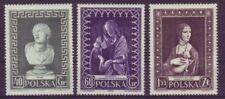 Echte Briefmarken aus Polen mit Kunst-Motiv als Satz