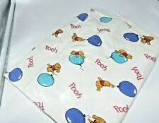 Fruit of the Loom Cotton Winne the Pooh on Balloons Receiving Blanket USA