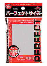 20x KMC CARD  50pcs  Perfect Fit Hard Sleeves for  89x64mm F//S