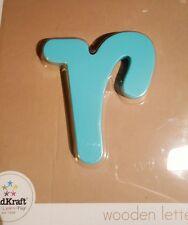 Decorative  wooden wall letters (R) kids kraft