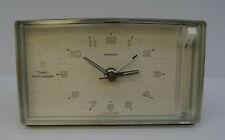 vintage 60s alarm clock DIEHL mini clock electronic grauer Wecker Tisch Uhr 60er