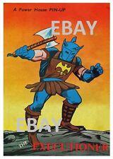 POWER PIN-UP Print - EXECUTIONER Thor Vintage Art Marvel UK Distribution
