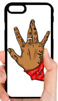 BLOODS GANG SIGN PHONE CASE FOR IPHONE XS MAX XR X 8 7 PLUS 6S 6 PLUS 5C 5S 4