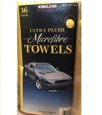 36 Microfibre Cleaning Cloth Towel Large Size for Car & Home Thick & Ultrasoft