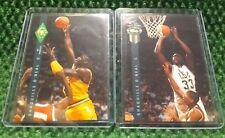 1992 Classic Four Sport Shaquille O'Neal Rookie #1 & #318 Basketball Cards LSU