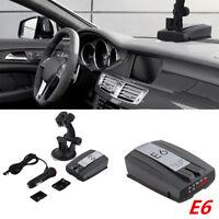 E6 360° Speed Alert GPS Speed Radar Detector Anti-Police Car Full Band GPS
