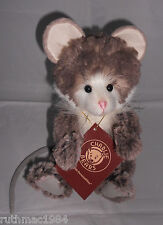 Charlie Bears PEPE the Plush Mouse ~ a QVC Exclusive 2017 by Isabelle Lee ~ NEW