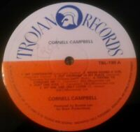CORNELL CAMPBELL - S / T LP ( RECORD ONLY ) RARE UK 1ST PRESS TROJAN BUNNIE LEE