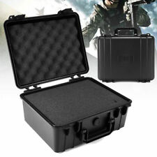 Waterproof Hard Plastic Carry Case Bag Tool Storage Box Portable Organizer H