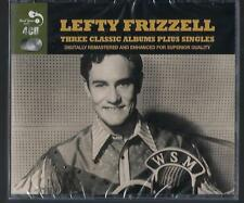 Lefty Frizzell 3 Classic Albums Plus Singles 4CD Brand new Ships Free U S