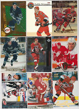 (25) card Keith Primeau mixed lot w/ rookies, Detroit Red Wings legend