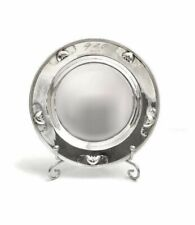 1931s VINTAGE ORNATE PLATE SILVER STERLING 925 ROUND TRAY DISH GEORGE JENSEN 77G