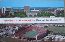 Lincoln, NE 1969 Chrome Postcard: Memorial Football Stadium, University Nebraska