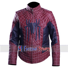 Peter Parker The Amazing Spider Man Synthetic Leather Jacket - All Sizes