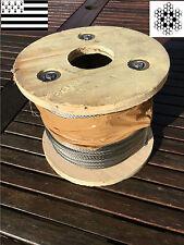 CABLE INOX 49 FILS Ø 4 MM (VENDU AU METRE)