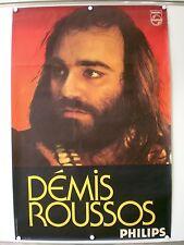 DEMIS ROUSSOS - ORIGINAL POSTER - RARE - PHILIPS - PHOTO J.C HIGGINS (1970)