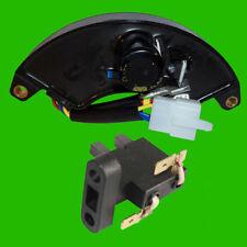 Voltage Regulator & Carbon Brush for Champion 41553 41119 41135 41153 41302 AVR