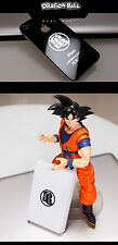 Cosplay Anime Dragon Ball Z Silver 3D Metal Stickers Kid Phone Decal Sticker