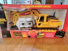 NEW BRIGHT RC REMOTE CONTROL EXCAVATOR 520-2 FROM 1999 - NEW