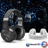 Bluedio Turbine Hurricane H Bluetooth 4.1 Wireless Stereo Headphones Headset BK