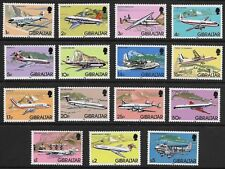 Gibraltar - SG 460-474 - 1982 - Definitive Set of 15 - Unmounted Mint/MNH