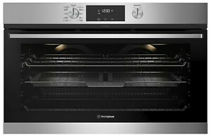 Westinghouse 90cm Pyrolytic Electric AirFry Oven Model WVEP916SC RRP $3249.00
