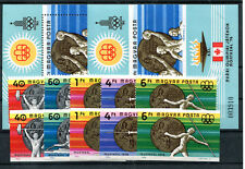 Ungarn 3164/68 Block 122 je A + B postfrisch / Olympiade .................2/1745