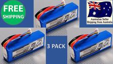 3 Pack Turnigy 2200 mAh 3S 20C Lipo Pack Battery XT 60 plug RC Car Airplane Heli