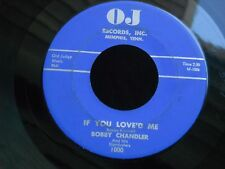2Z OJ 1000 DOO WOP BOBBY CHANDLER & HIS STARDUSTERS IF YOU LOVED ME IM SERIOUS