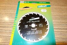 HM Kreissägeblatt für Hand Kreissäge  Wolfcraft 150  /  20  /  Z = 20