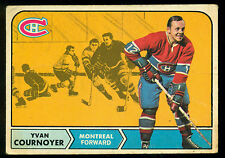 1968 69 OPC O PEE CHEE #62  YVAN COURNOYER VG MONTREAL CANADIENS HOCKEY CARD