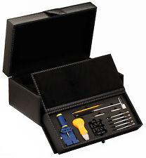 New High Quality Diplomat Watch Storage Box w/ Watch Tool Kit